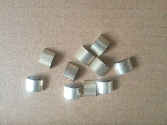 10 10 10 Piezas Rana de arco Virolas De Plata Pura Material Para Arco De Violín De Ranas 4 4 dfabbb