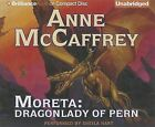 Moreta: Dragonlady of Pern by Anne McCaffrey (CD-Audio, 2013)