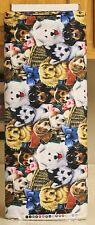 Valentine Puppies & Dogs Fabric by David Textiles bty