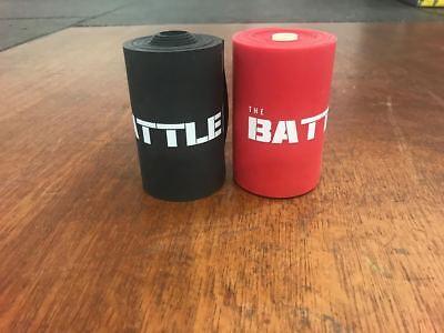 """Battleboxuk Extra Wide 4"""" Muscolo Filo Interdentale Band 7' Fit Mobilità Crossfit-"""