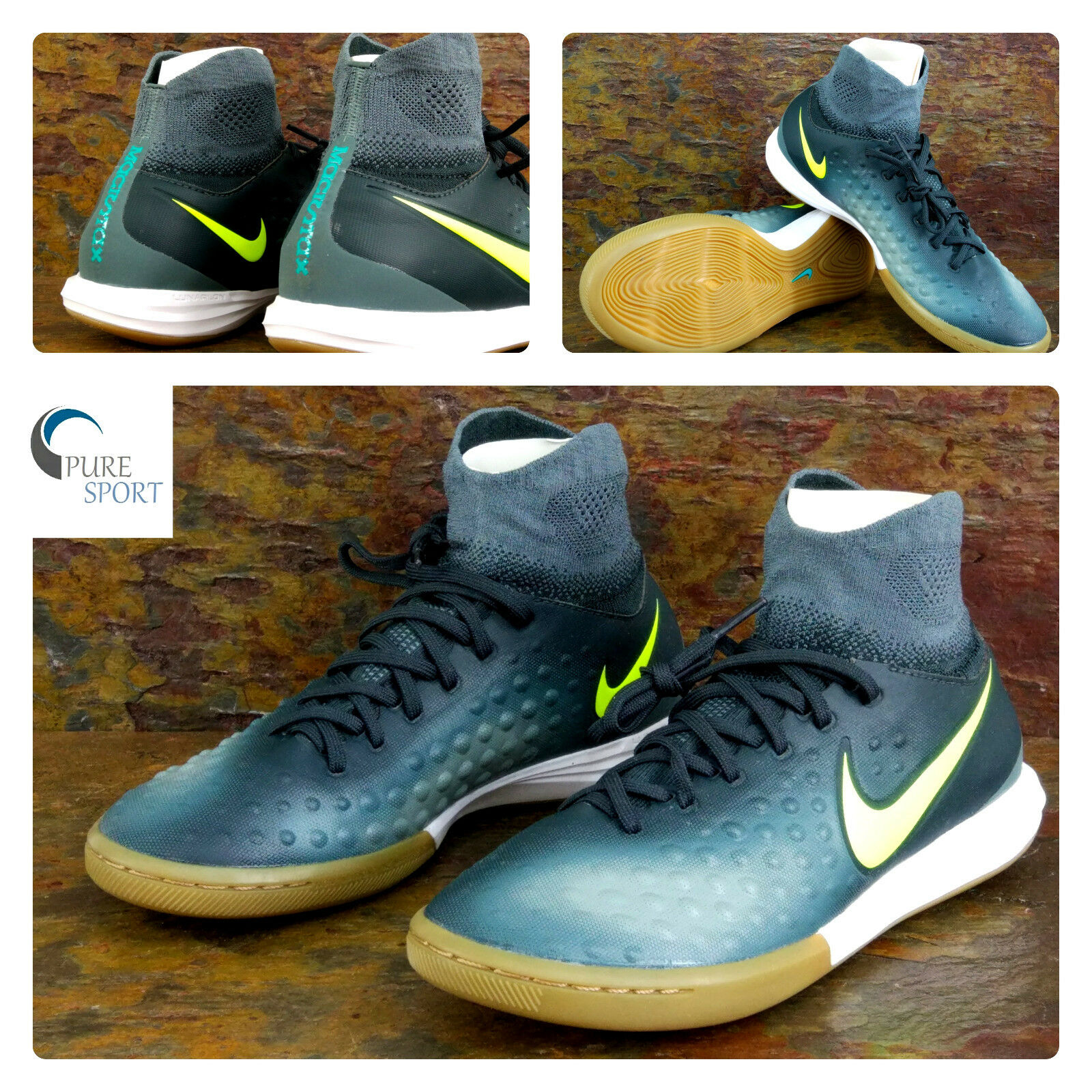 aec434e49 NIKE Junior MAGISTAX Proximo II Dynamic Fit IC Football Trainers Eu 38.  Credit Cards · Vintage Mens ...
