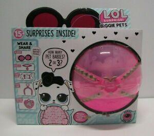 Biggie Pets Dollmation Mini Backpack Eye Spy Series L.O.L Surprise