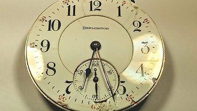 Intellektuell Illinois, Burlington 16s Taschenuhr, 19 Schmuckstück, Verstellt Zu Und Pos