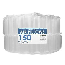 4x8 Air Pillows 150 Count Void Fill Package Dunnage Shipping Cushioning Packing