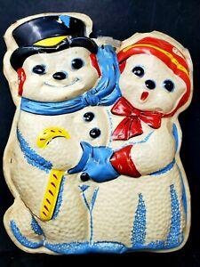 Vintage LA Goodman Molded Plastic Christmas  #370 Jr Noel Snow Carolers