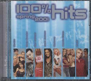 100% Hits Spring 2001 CD POSTAGE FREE