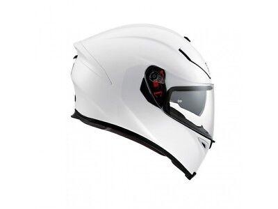 AGV K5-S Marble Nero Bianca Rosso Motociclo Casco