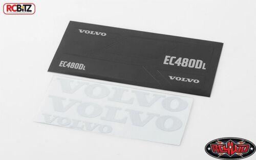 Volvo Décalque Sheet Set for 1//14 Earth Spéléon 360 L rc4wd vvv-c0267 Excavator RC