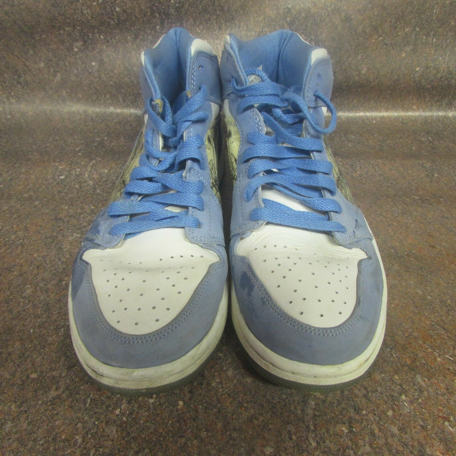 Nike Air Jordan 1 Retro Alpha UNC University blueee 316269-142 Mens Size 10 (J4)