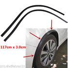 2Pcs Carbon Fiber Car Fender Flare Wheel Eyebrow Protector Wheel Arch Trim Strip