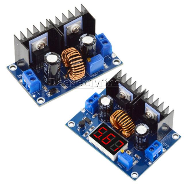 XL4016 PWM 4-38V To 1.25-36V Step-Down DC-DC Converter Board Module+LCD Display