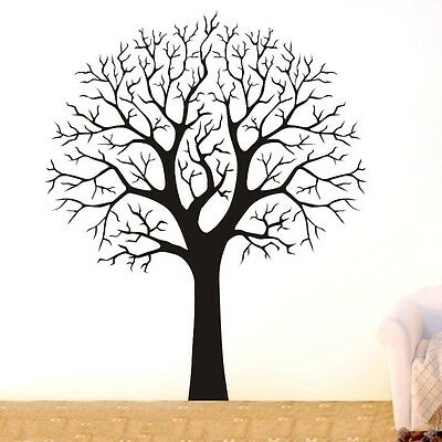 2m High LARGE TREE BRANCH Wall Decor Removable Vinyl Decal HOME Sticker DIY