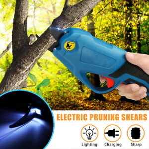 Secateur-Branch-Cutter-Shears-Electric-4V-Battery-Cordless-Pruning-Garden-Tool