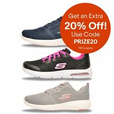 Skechers Womens MEMORY & COMFORT Foam Fitness Trainers From £34.99 FREE P&P