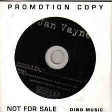 Jan Vayne-Toccata&Fugue Promo cd single
