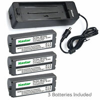 Kastar Battery Charger Canon Compact Photo Printers Selphy Cp-780 Cp-790 Cp-600