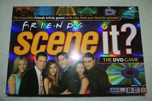 FRIENDS-SCENEIt-DVD-BOARD-GAME-MATTEL-2005-100-COMPLETE-ORIGINAL-NEAR-MINT