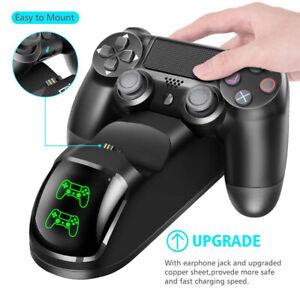 Cargador-rapido-PS4-controlador-doble-estacion-base-de-Carga-Dualshock-Gamepad