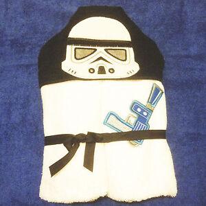 In The Hoop Hooded Towel Stormtrooper Machine Embroidery