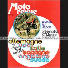 MOTO REVUE N°2144 JAPAUTO 950 SS MONTESA COTA 49 VESPA 50 R BMW R 90 S R90S 1973