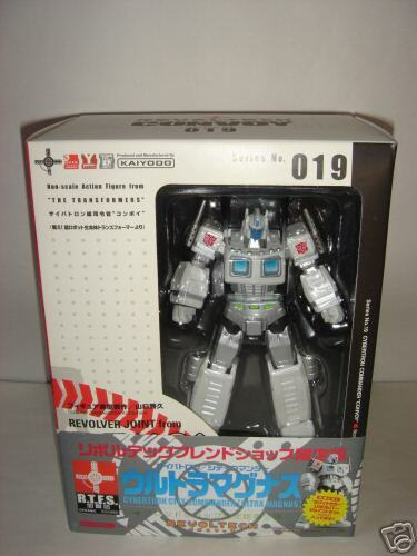Transformers Ultra Magnus Revoltech Limited Edition NEW Rare