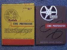 1952 KODAK CINE PHOTOGUIDE IN ORIGINAL BOX