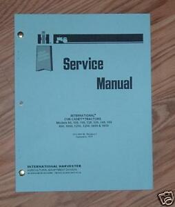 cub cadet 1000 1200 1250 1450 1650 service manual gss 1464 ebay rh ebay com cub cadet 1450 parts manual free cub cadet 1450 service manual