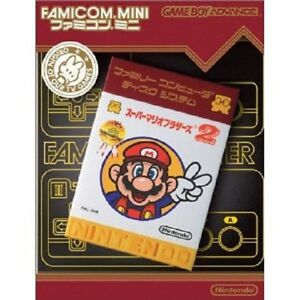 Nintendo-GBA-Super-Mario-Bros-2-Japan-Gameboy-Advance-Famicom-mini-Japan-F-S