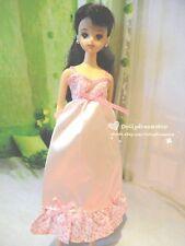 Doll Dress ~Takara Jenny Pink Pajamas dress 1pcs/Jenny Obitsu 27cm/Pullip#3 wear