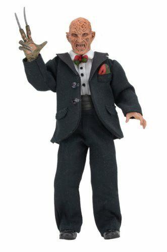 "NECA NIGHTMARE ON ELM STREET partie 3 Tuxedo Freddy Krueger 8/"" Clothed Figure"