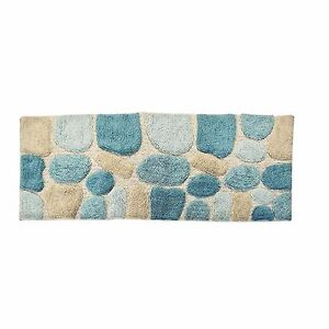 Bath Rug Runner Mat 24 In X 60 In Rubber Backed Non Slip Pad