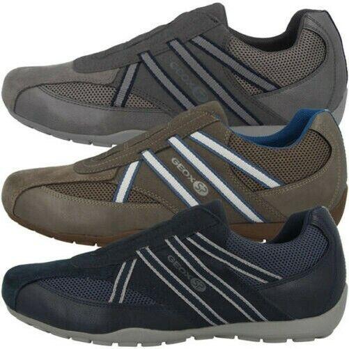 Geox U Ravex C Scarpe Uomo Low Cut da Ginnastica Basse Pantofola U923FC0AU14C