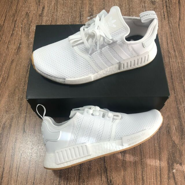 Mens Adidas Nmd R1 White D96635 Size Us 11 For Sale Online Ebay