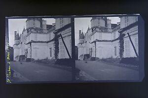 Chateau-a-Usse-Francia-Foto-Stereo-Negativo-Su-Film-Morbido-1913