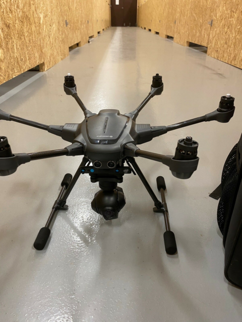 Drone, Yuneec Typhoon H Plus, Har haft den fra ny.…