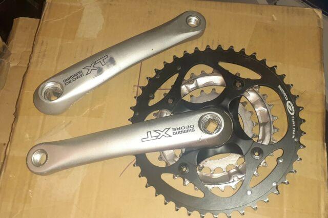 Shimano deore xt crankset FC-m750  175mm