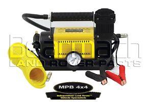 t max heavy duty 12v air compressor portable 4x4 tyre pump. Black Bedroom Furniture Sets. Home Design Ideas