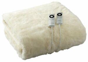 NEW-Sunbeam-Wool-Fleece-Queen-Electric-Blanket-BL5651