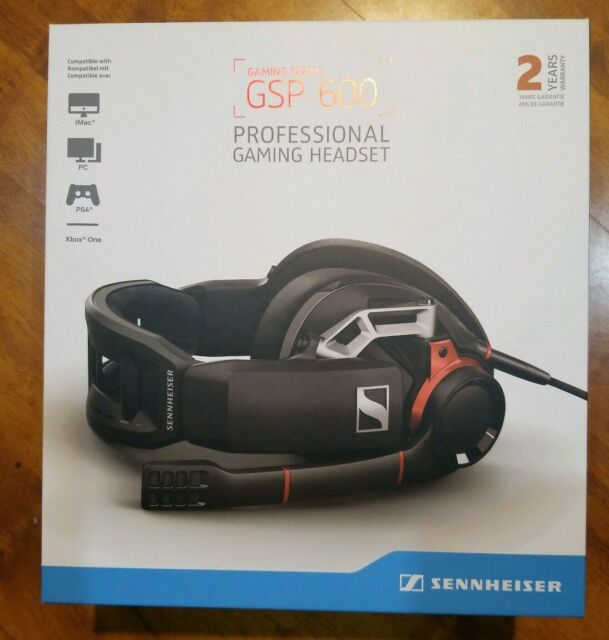 fefa8f1cd82 Sennheiser GSP 600 Professional PC and Console Xbox Ps4 Gaming ...