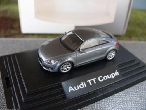 1//87 Wiking Audi TT Coupe gris-azul metalizado 379956