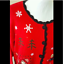 thumbnail 5 - Ugly Christmas Sweater Size XL Red Skies Mittens Winter Cardigan Basic Editions