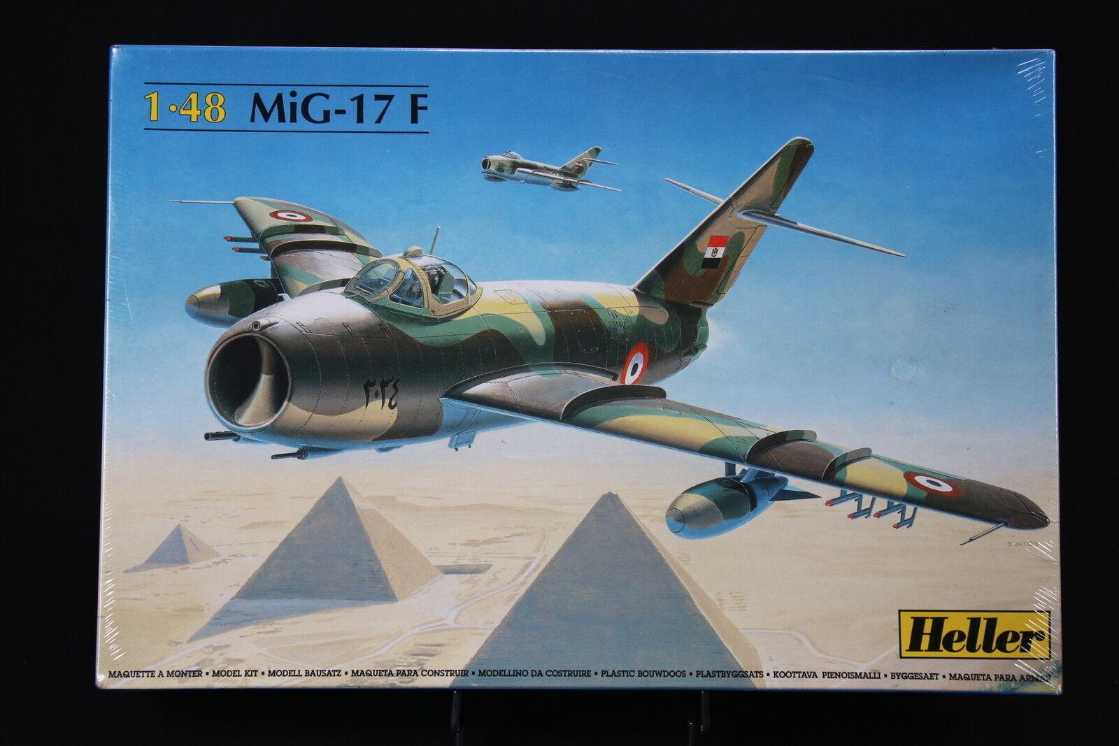 YP010 Heller 1/48 Modellino Aereo 80416 MiG-17 F
