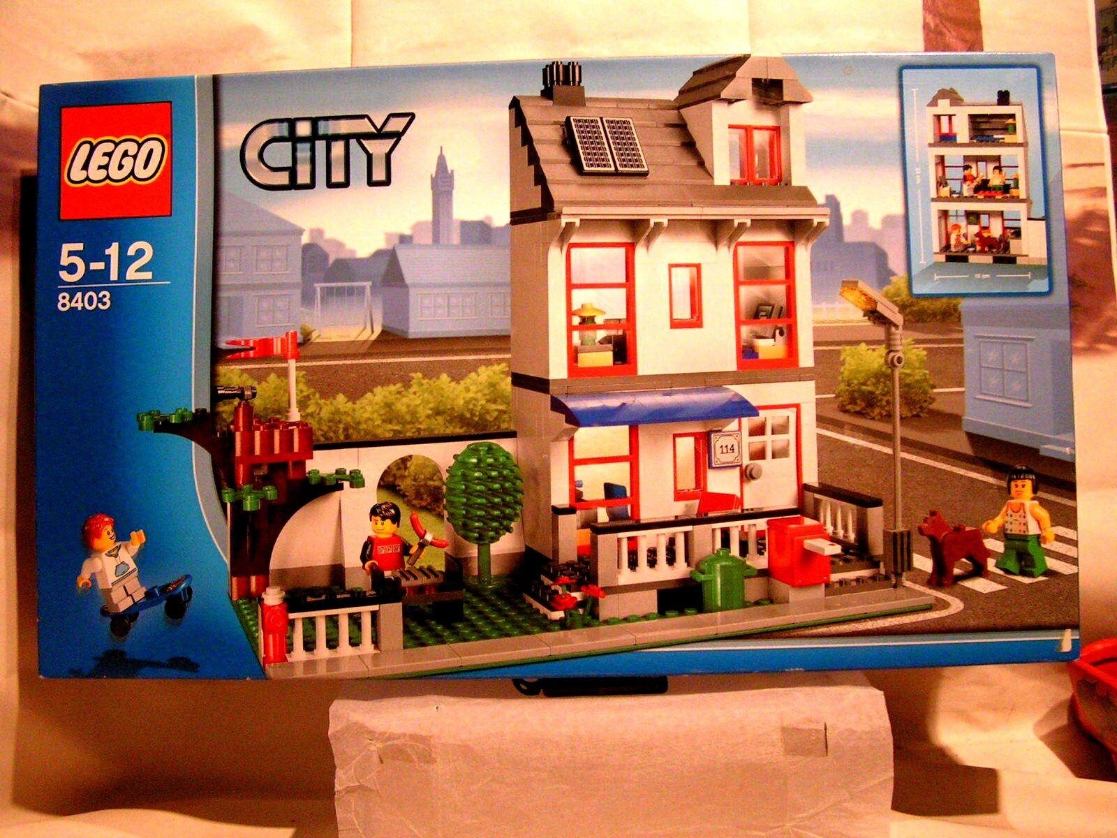 LEGO CITY   -   LA MAISON DE VILLE A ETAGE  (BOÎTE SCELLEE ref  8403)