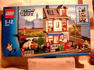 Lego City - La Maison De Ville A Etage En Boîte Scellee (ref 8403)
