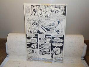 Superman #316 PAGE 29 ORIGINAL ART BY Curt Swan and Dan Adkins