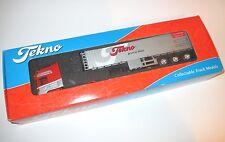 Scania Vabis Zugmaschine truck engine + Trailer groot in klein, Tekno 1:50 boxed
