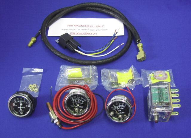 magneto kill fits lincoln sa 200 welder murphy swichgage gauge set rh ebay com