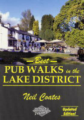 """""""AS NEW"""" Coats,Neil, Best Pub Walks in The Lake District, Book"""