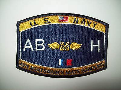 Navy Aviation Boatswains Mate Patch Handling ABH