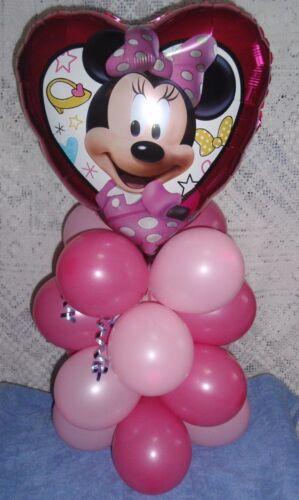 Pantalla de mesa de globo Disney Minnie Mouse Fiesta De Cumpleaños Airfill no Helio P//P